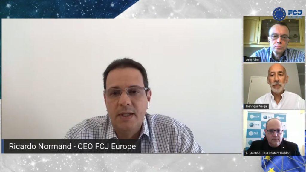Evento online, Lancamento FCJ Europe